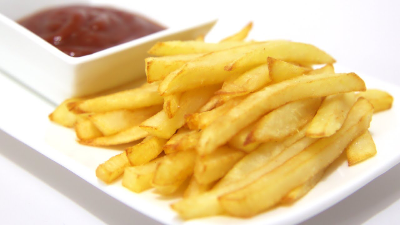 French Fries with Ketchup or Mayonnaise
