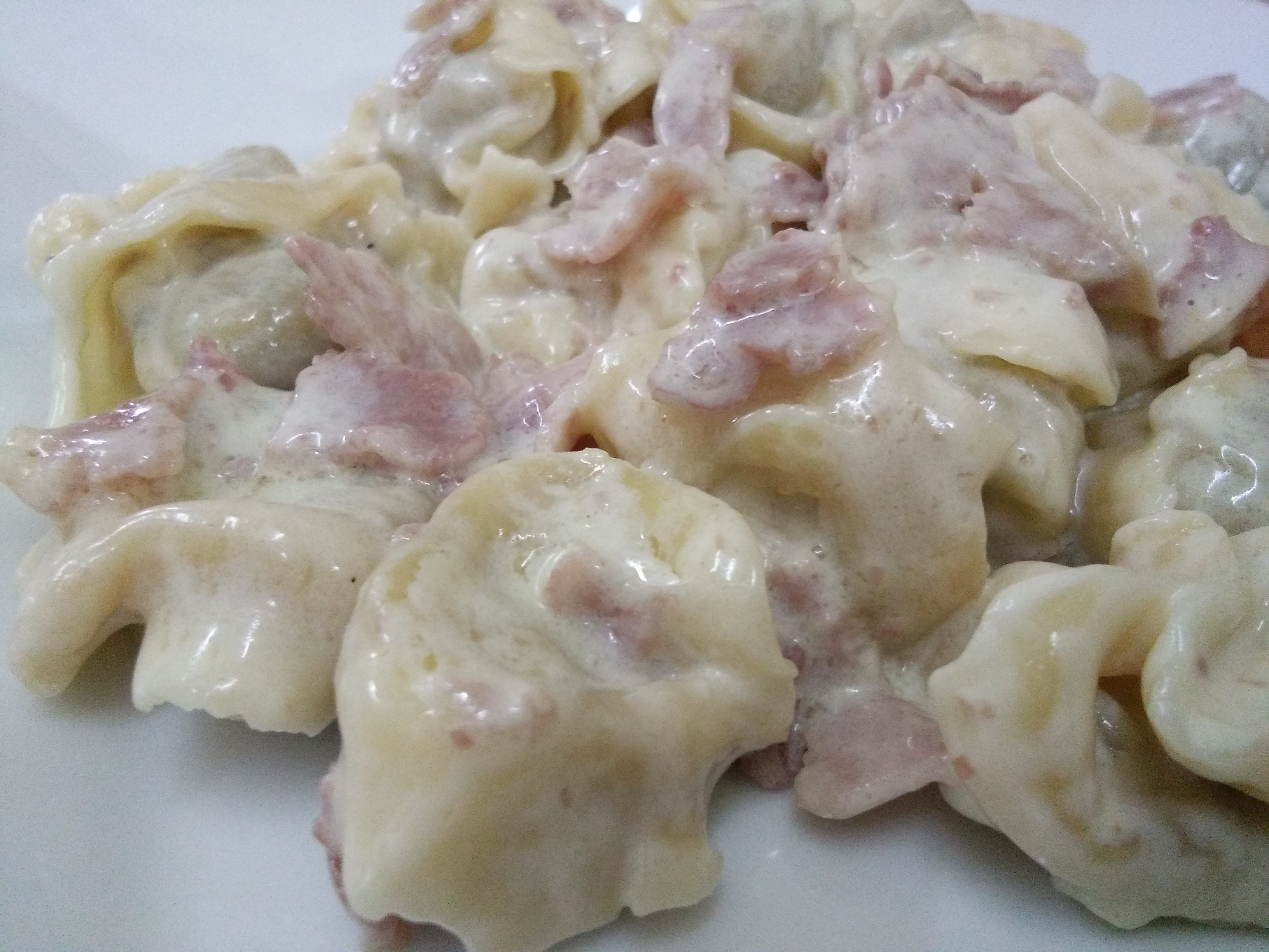 Meat filed tortellini