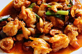 Shrimp Stir Fried Cashew Nut