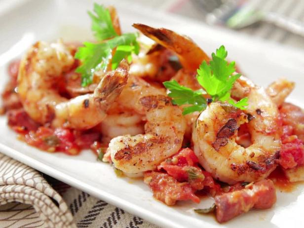 Shrimp with Tamarind sauce