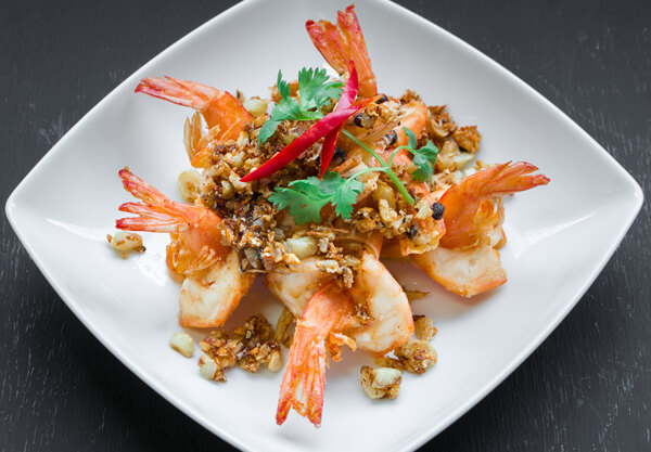 Seafood Stir Fried Garlic and Pepper