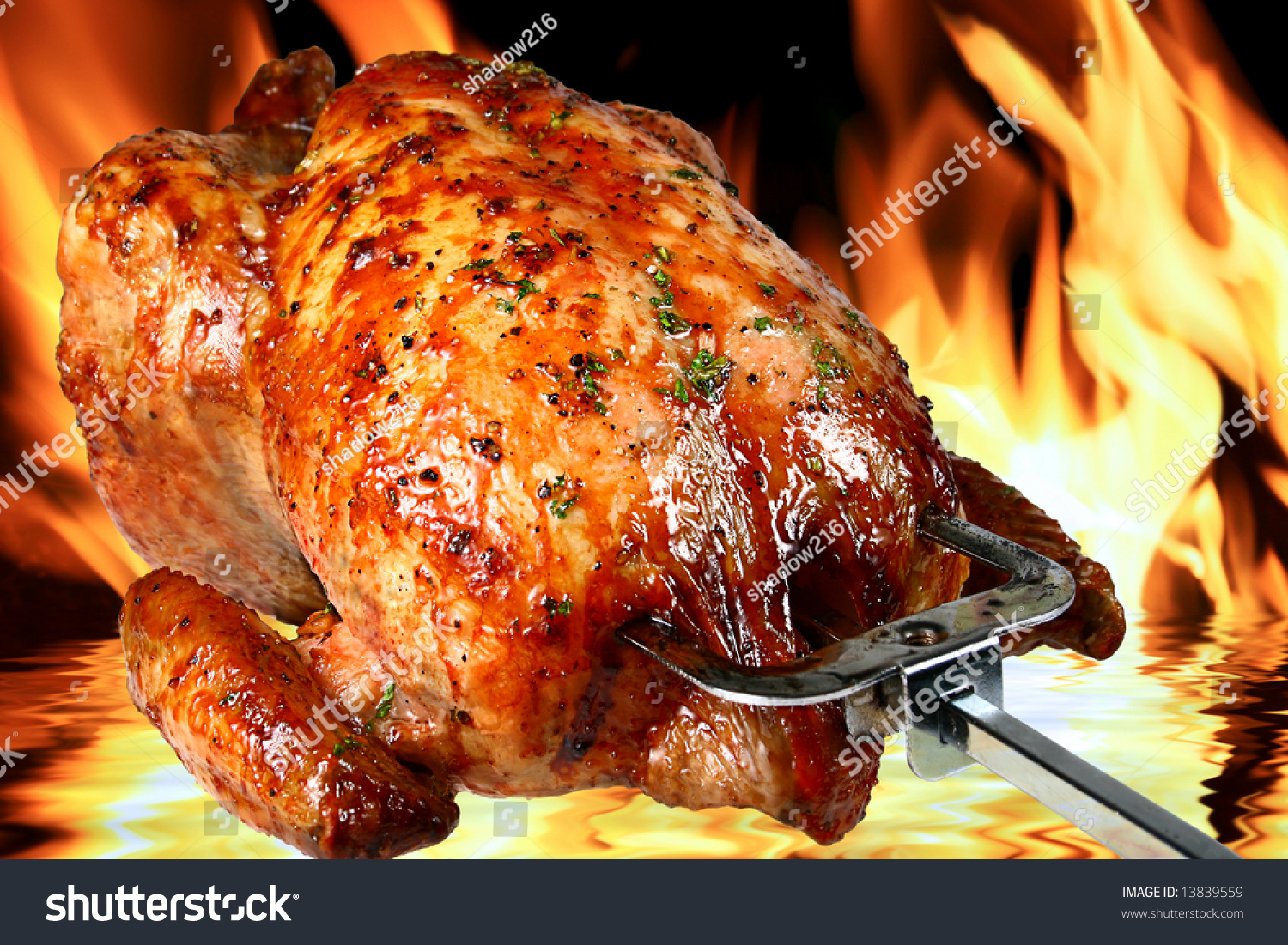 1/4 Roasted Chicken + 1 side + 1 sauce