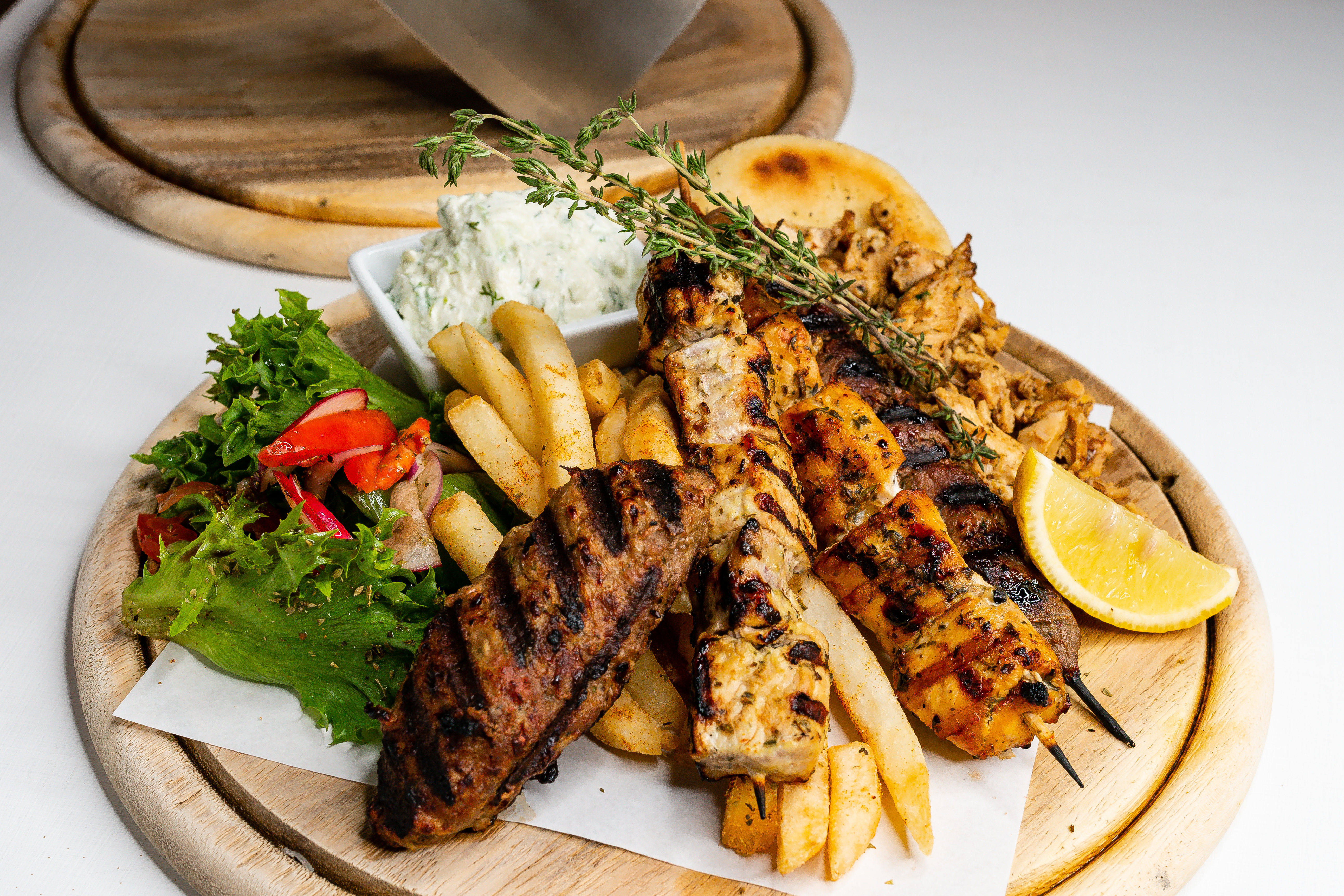 38. Mixed grill