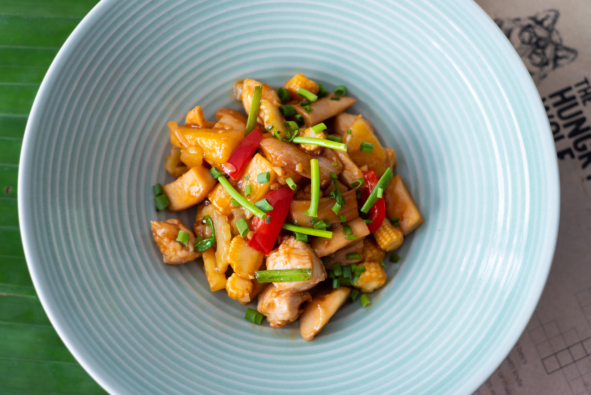 Sweet & sour vegetables with chicken