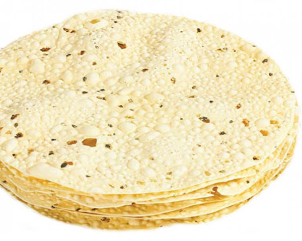 Papad Roasted / Papad Fry