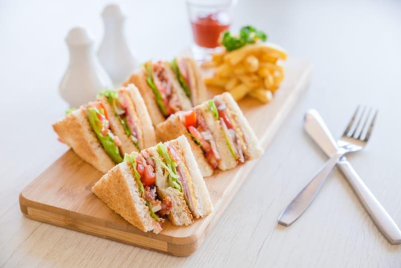 Secret Garden Club Sandwich