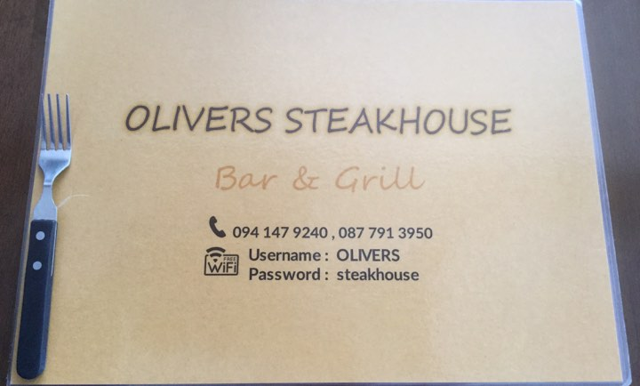 Olivers steakhouse