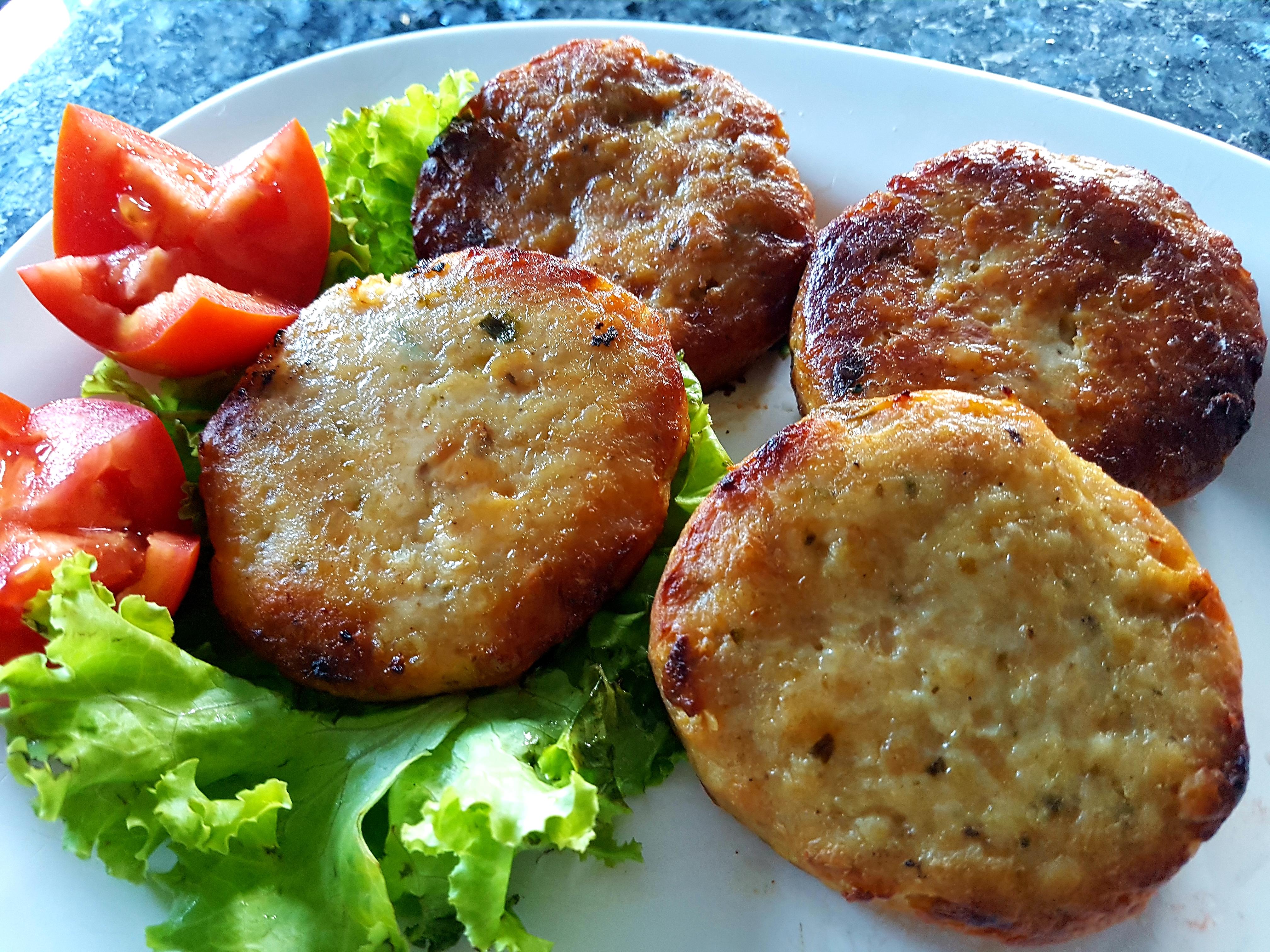Chicken Burgers 4 per 500g