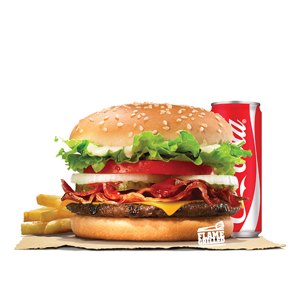 WHOPPER JR. BACON CHEESE VALUE MEAL (BEEF)