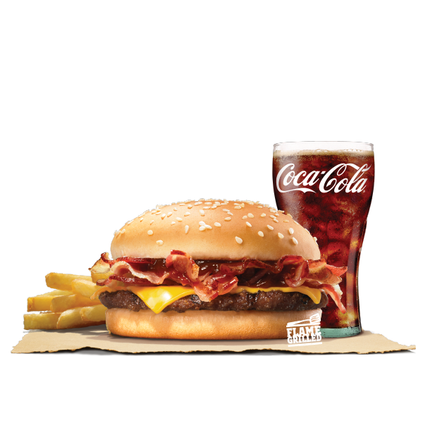 BBQ BACON CHEESE VALUE MEAL (BEEF)