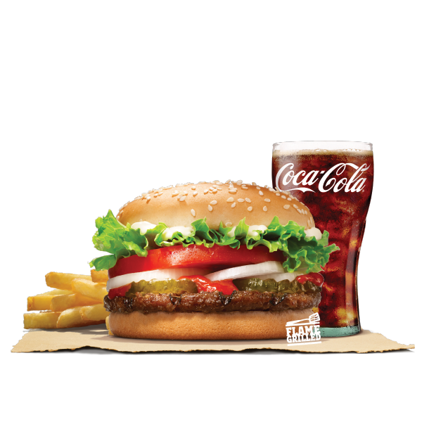 WHOPPER JR. VALUE MEAL (BEEF)