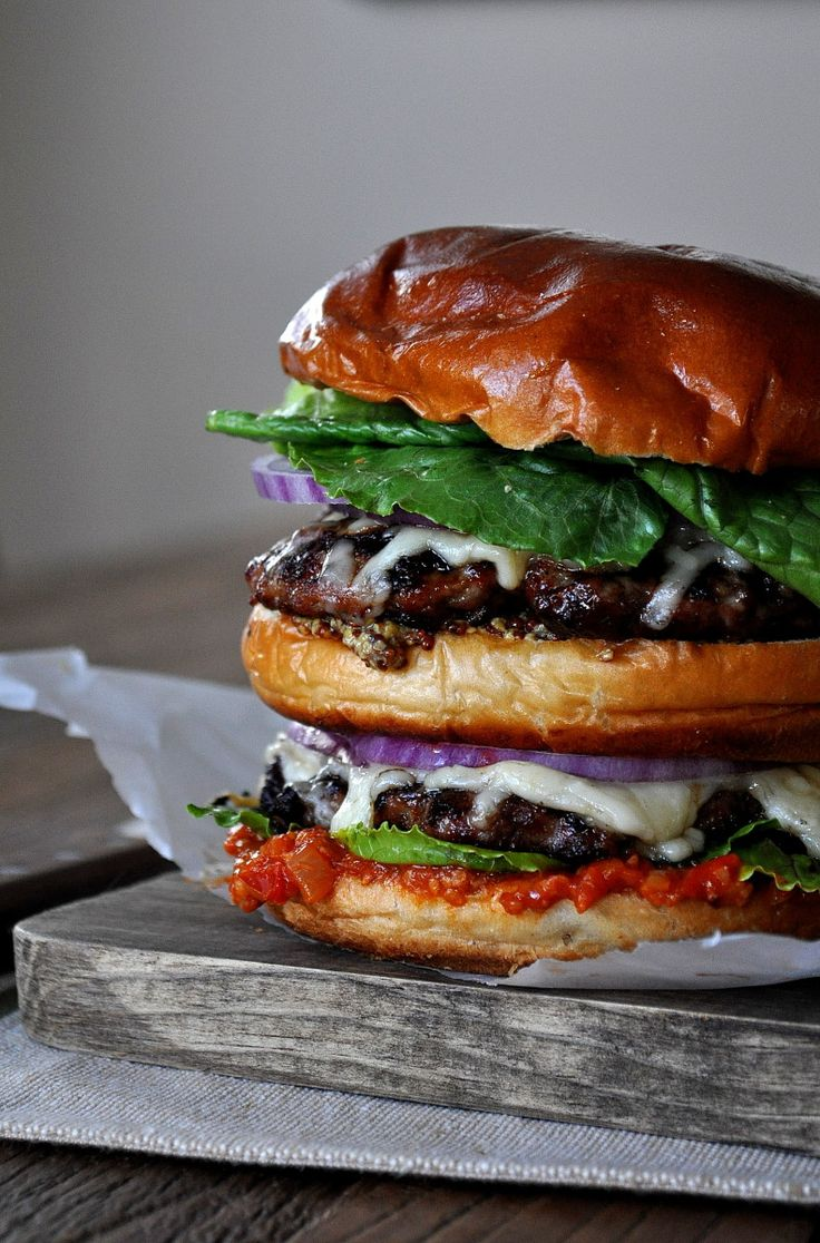 Double Chicken Burger