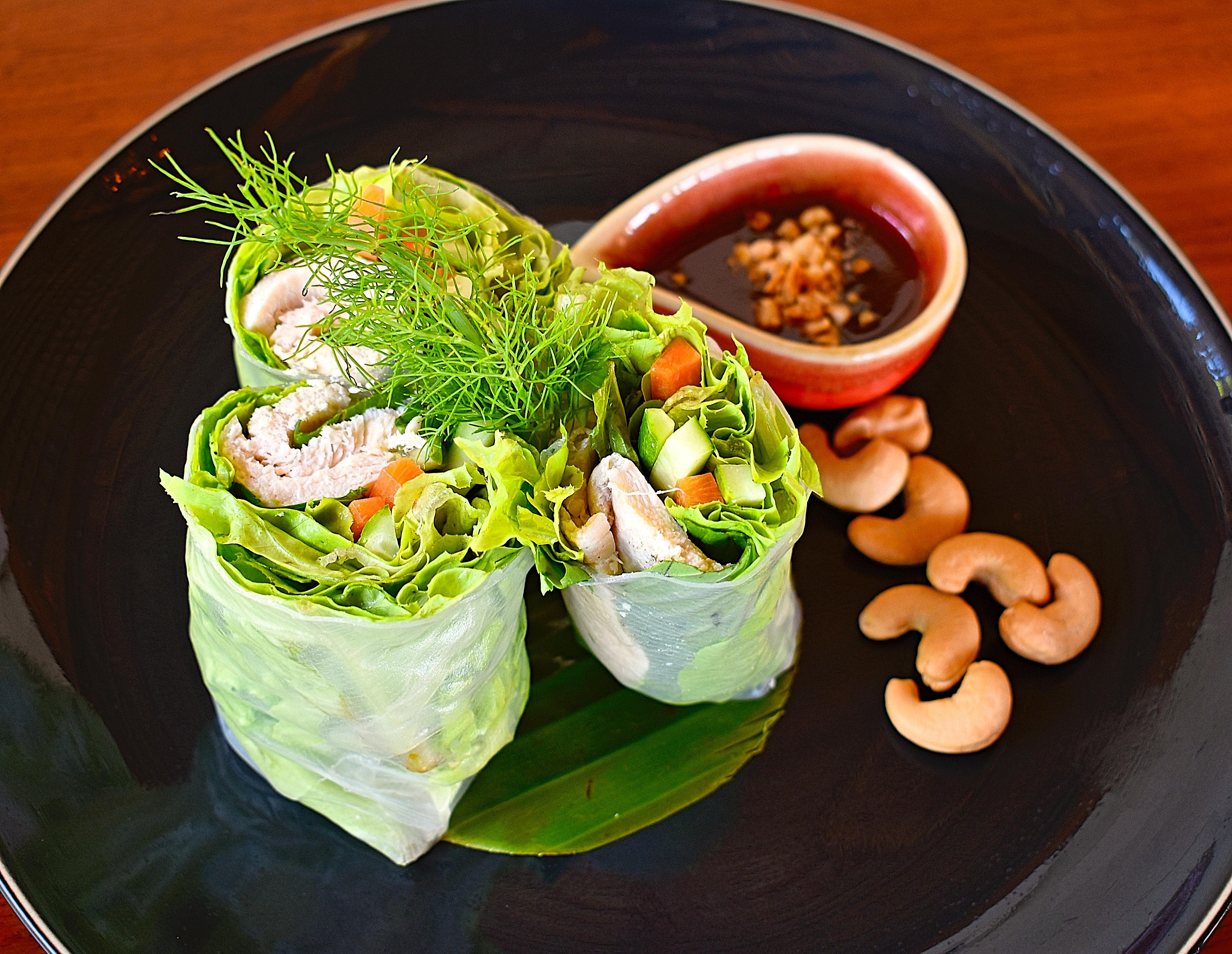 Rice paper rolls