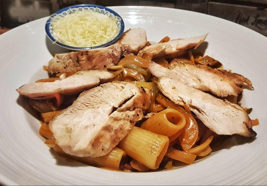 House Stroganoff Pasta Chicken or Pork