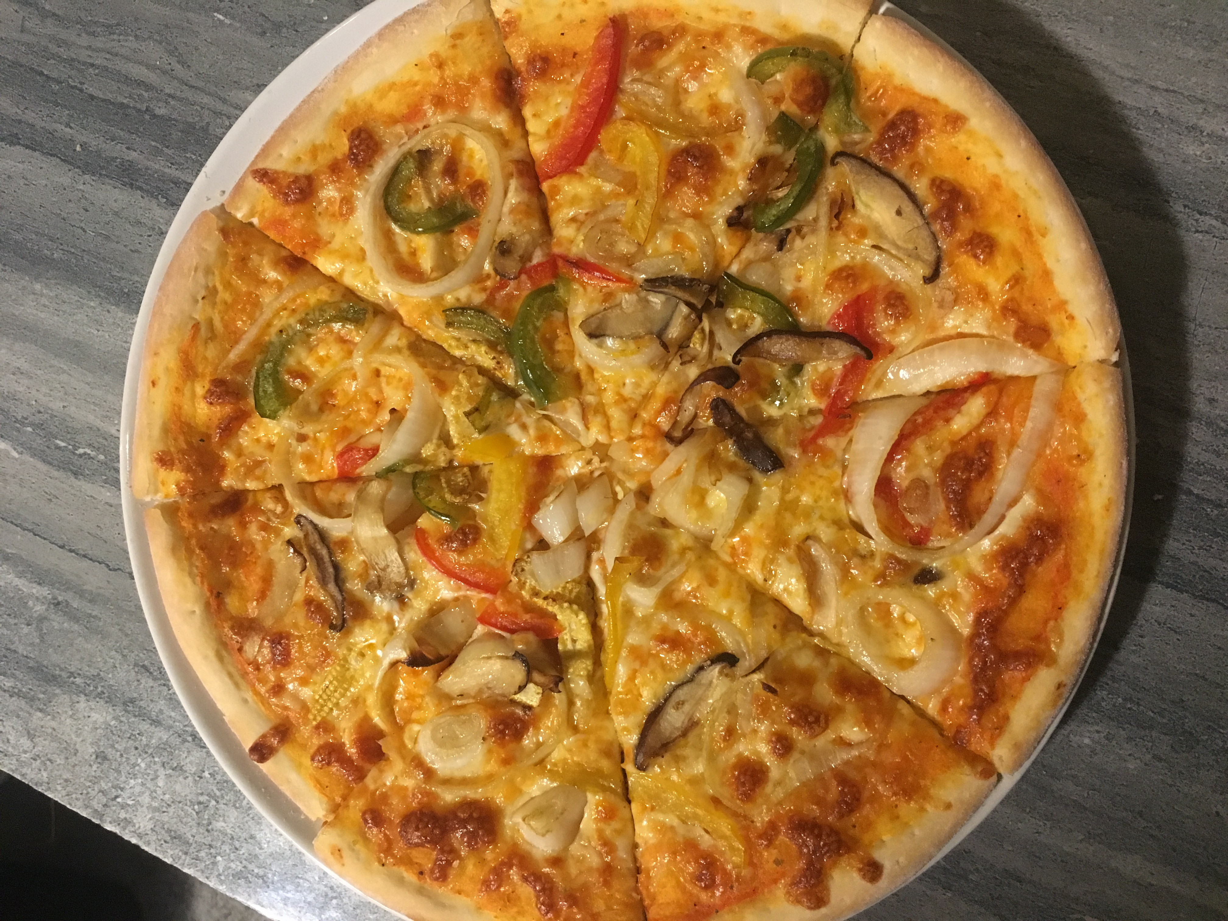 Order The Best Vegetarian Pizzas In Koh Samui