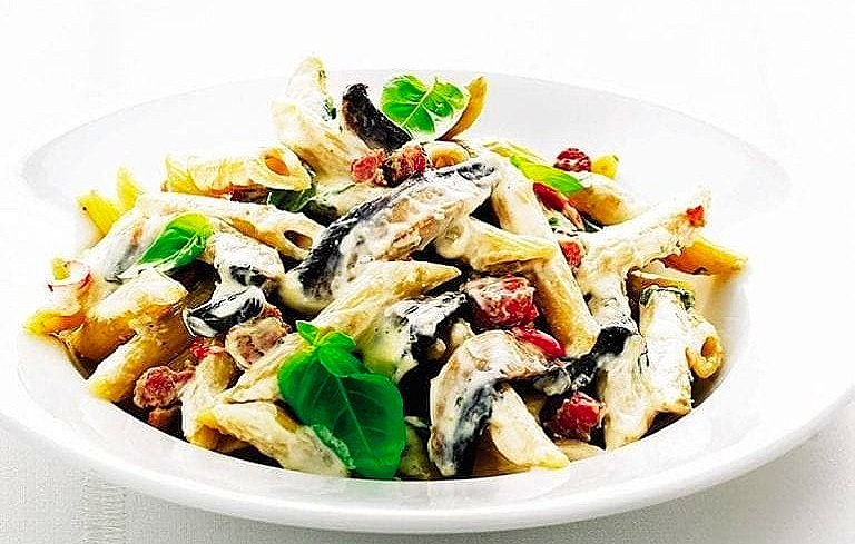 Mushroom Pasta **