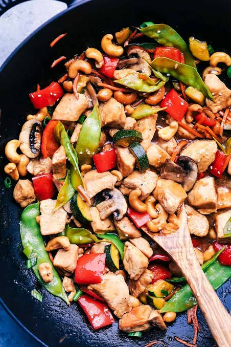 Stir Fried Cashew Nuts