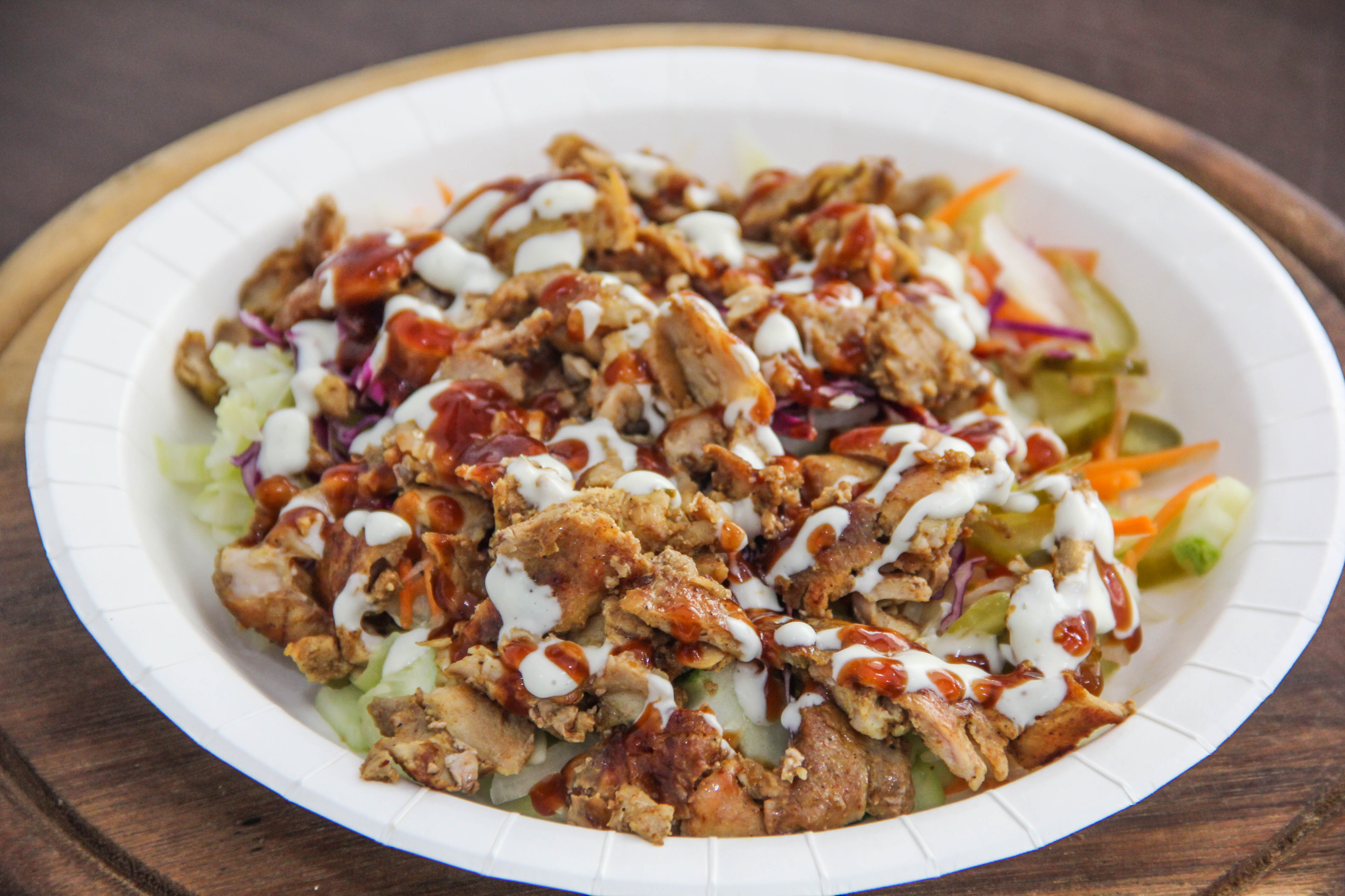 Chicken Salad with Garlic & Chili sauce