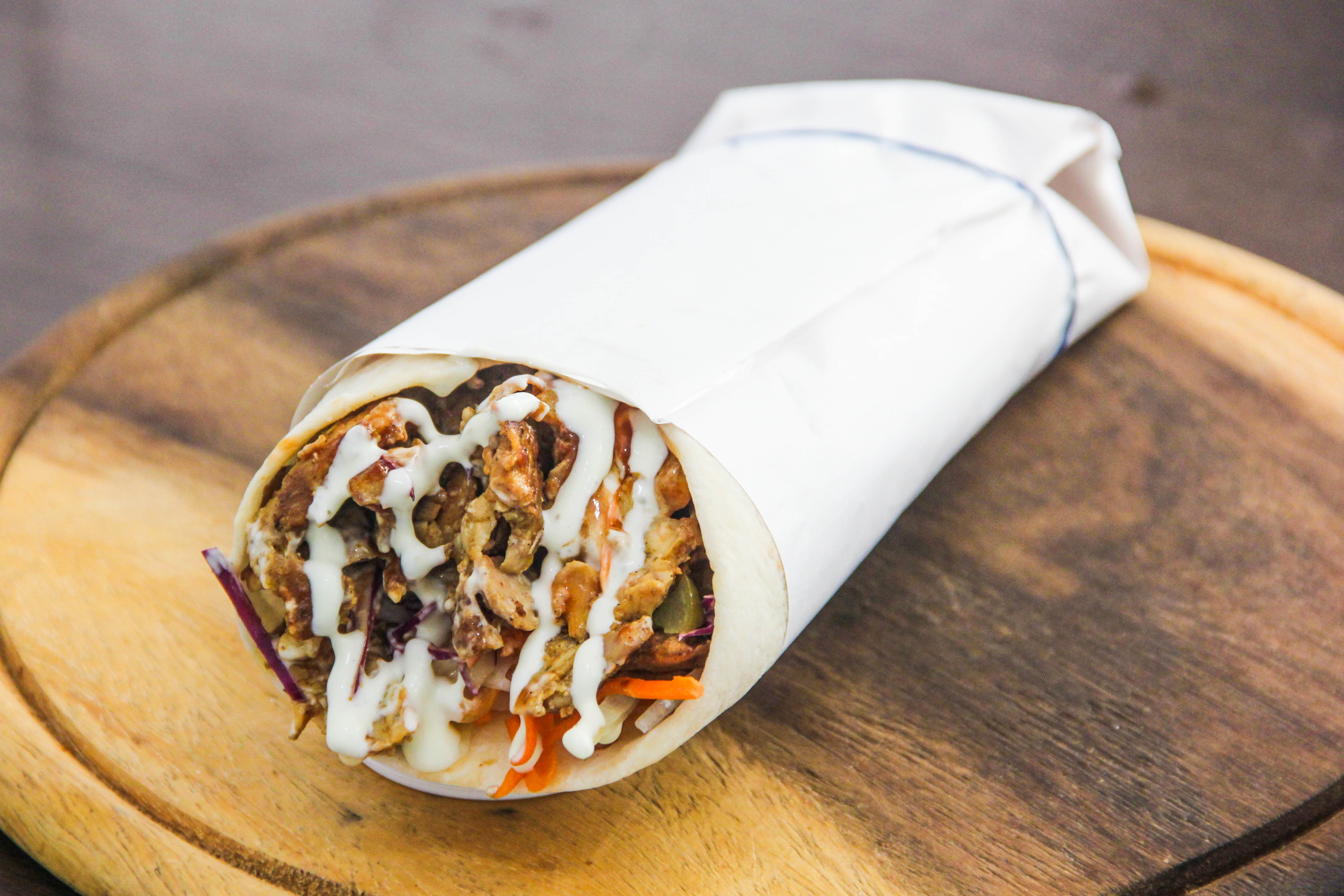 Chicken Kebab Wrap xl size