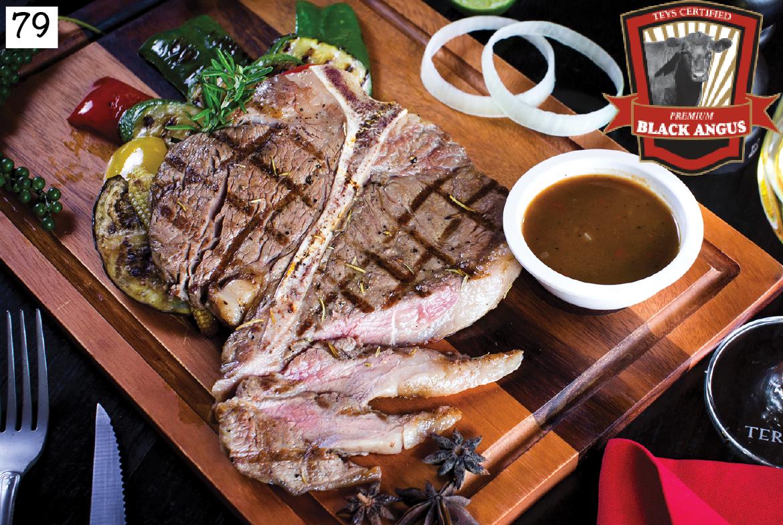 """BLACK ANGUS  T-Bone steak """"Costata"""""""