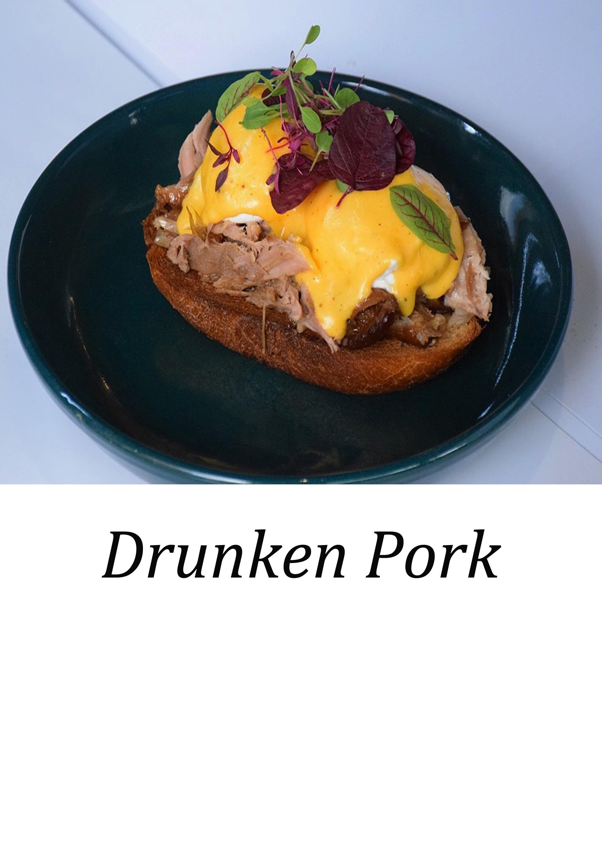 Drunken Pork ( ดรังเค่น พอร์ค)