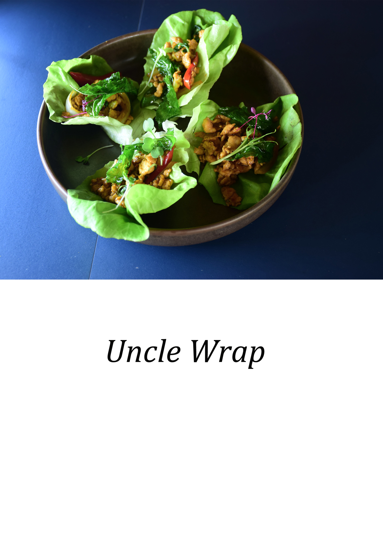 Uncle Wrap (อังเคิล แรป) (serves x4)