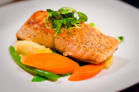 Pan Fried Atlantic Salmon 180gr