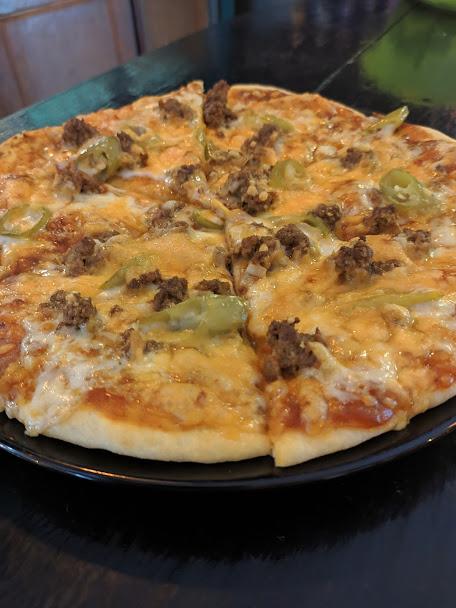 Spicy Thai Pizza