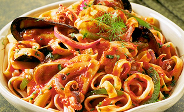 Pasta Seafood
