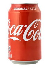 Coca Cola can original taste