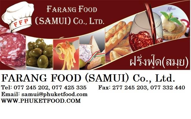 Farang Food Samui