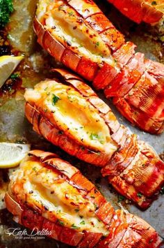 Half or Whole Poached Phuket Lobster with Garlic Butter