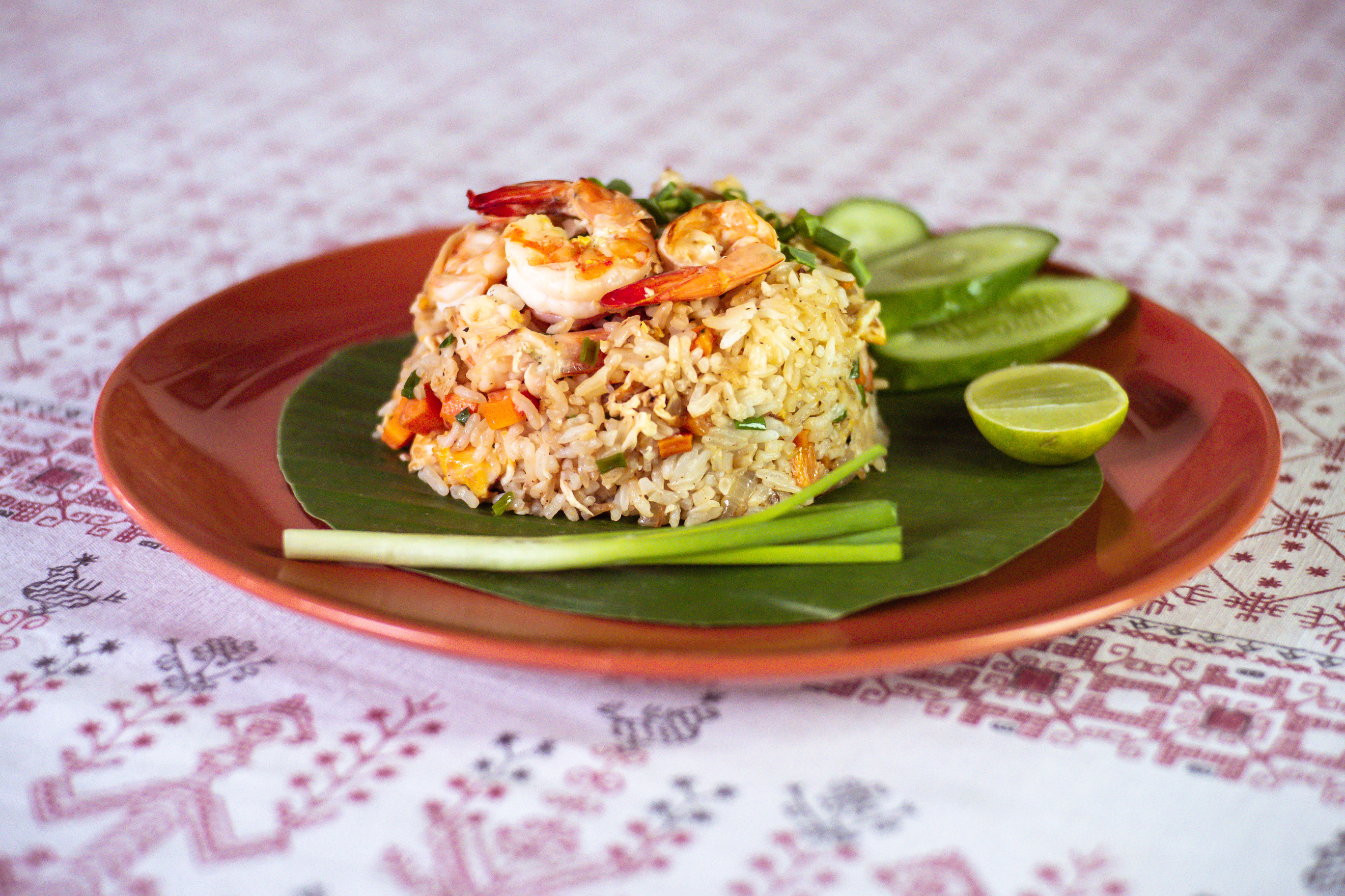 Fried rice Khao Phad