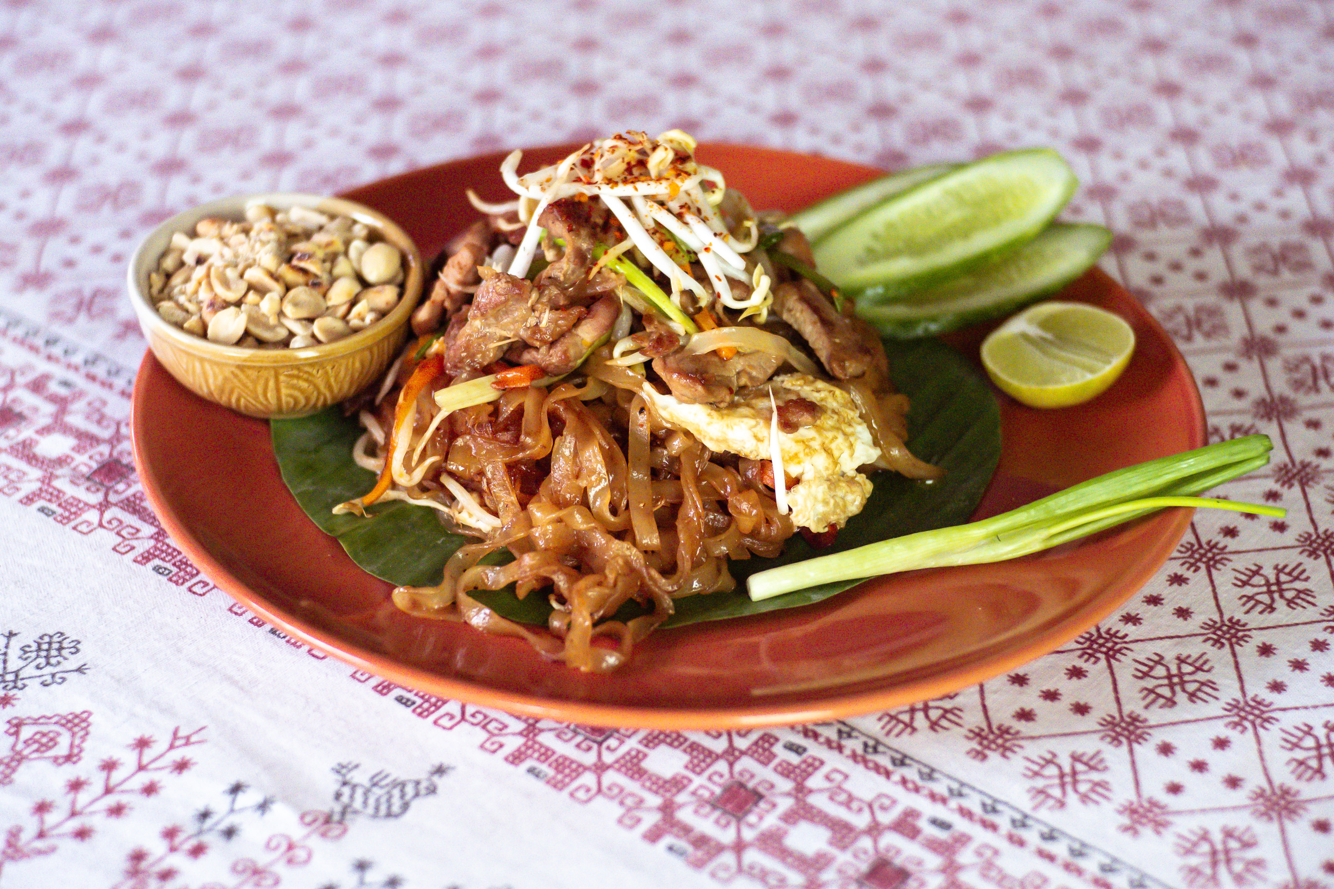 Fried noodle Phad Thai