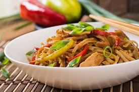 Burmese fried yellow  noodle
