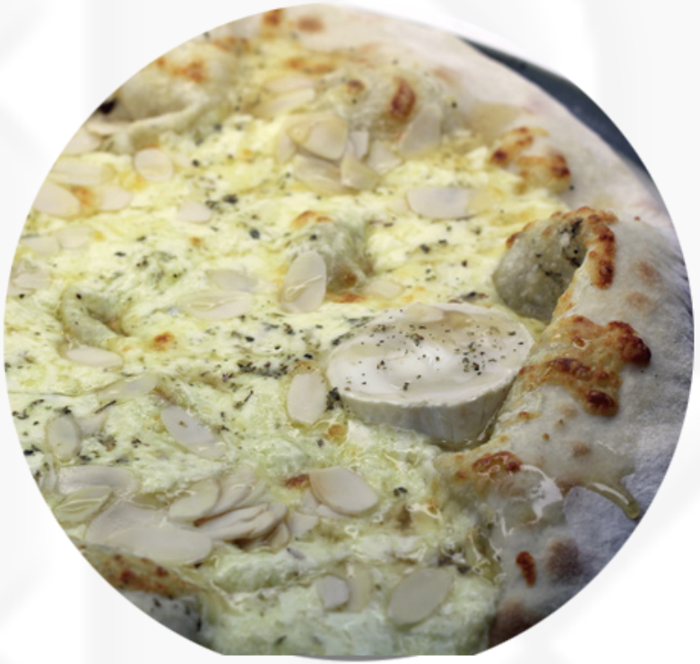 Honey Goat Cheese Pizza
