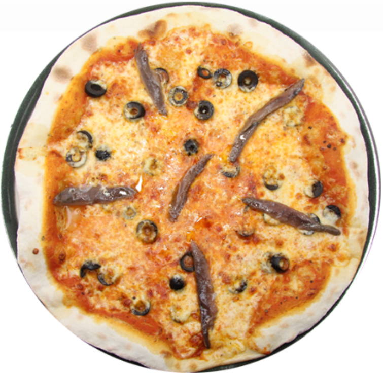 Napoly Anchovy Pizza