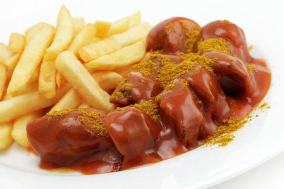 CURRY SAUSAGE (CURRY WURST)