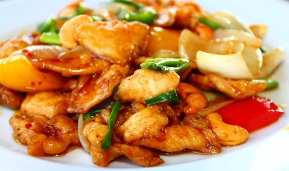 (Chicken/pork/ shrimp) cashew nuts