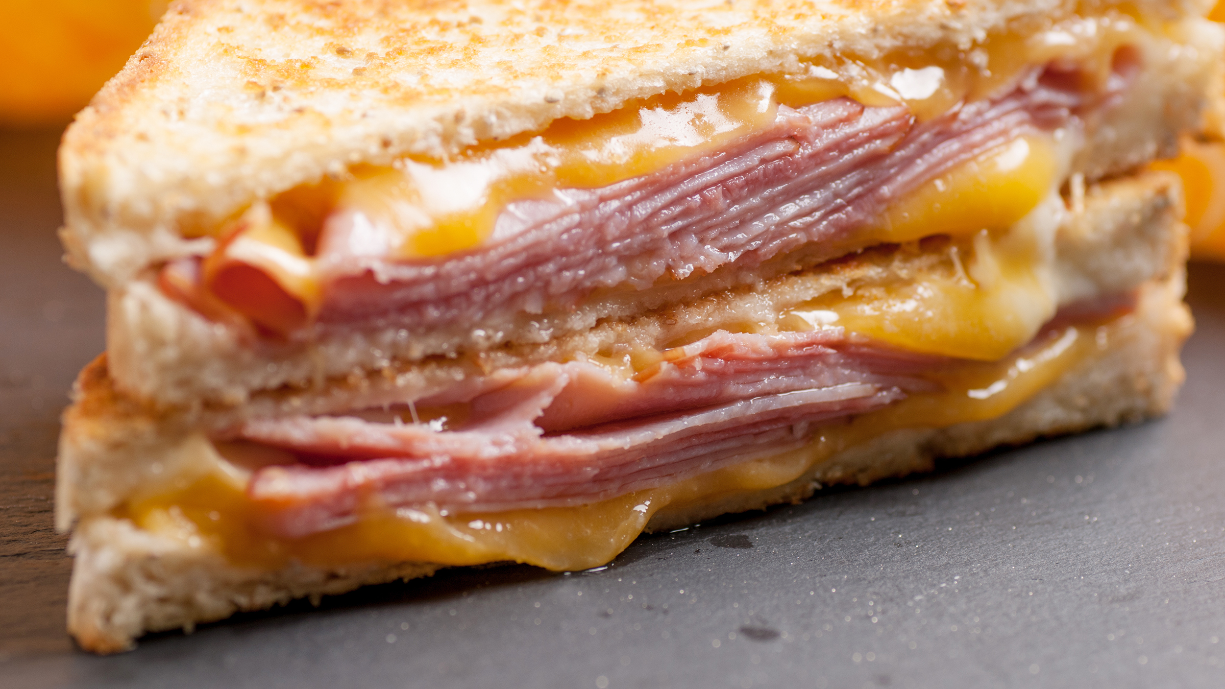 Ham & Gouda Cheese Sandwich (grilled)