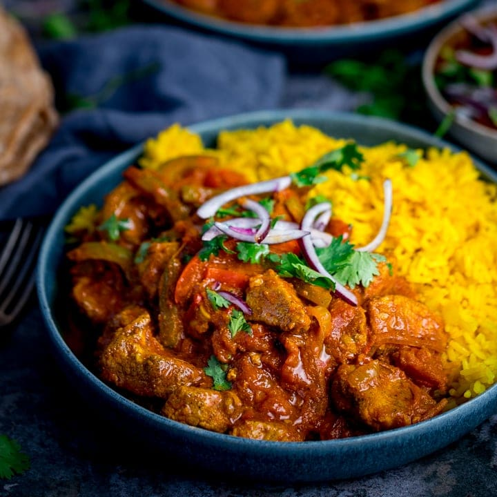 Chicken Tikka Jalfrezi
