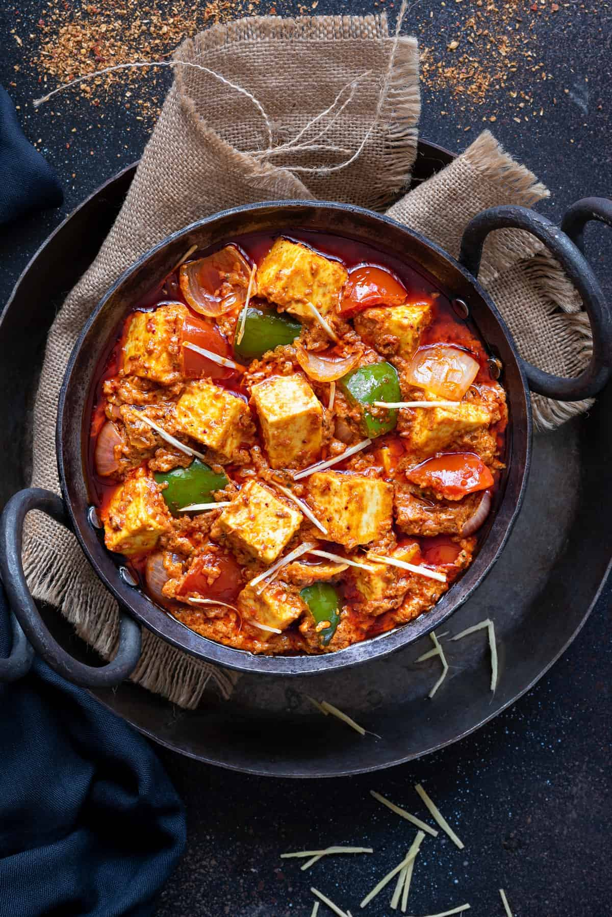 KADHAI PANEER THE GREAT