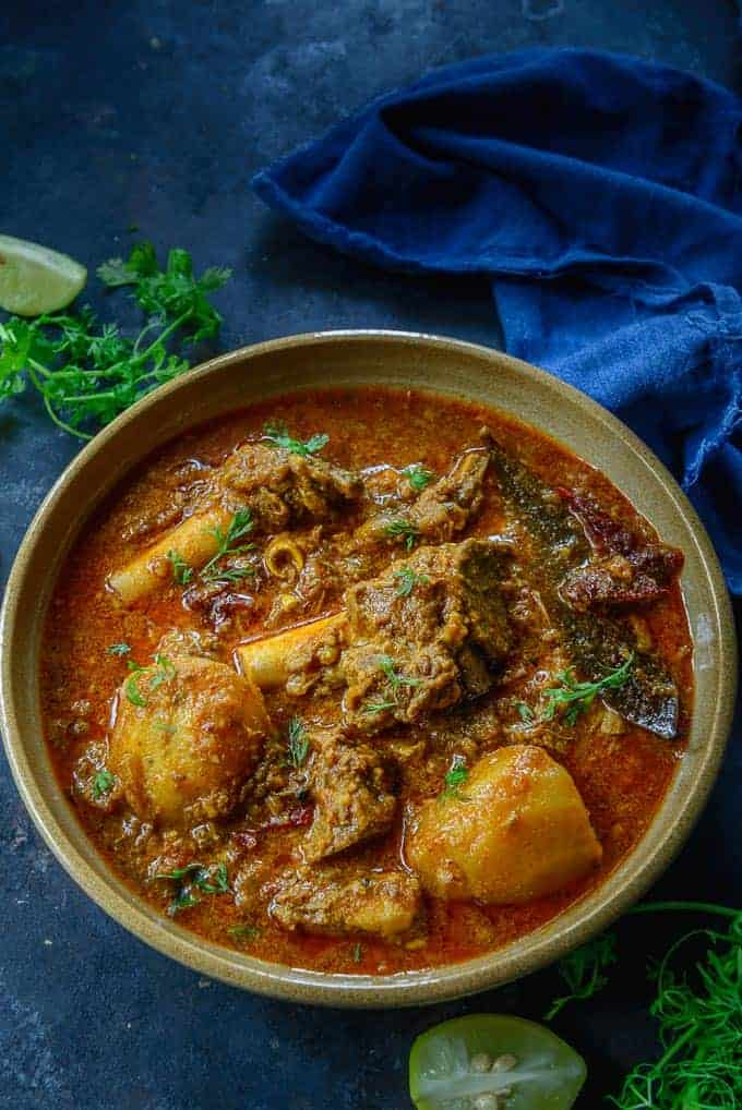 BRAISED LAMB CURRY