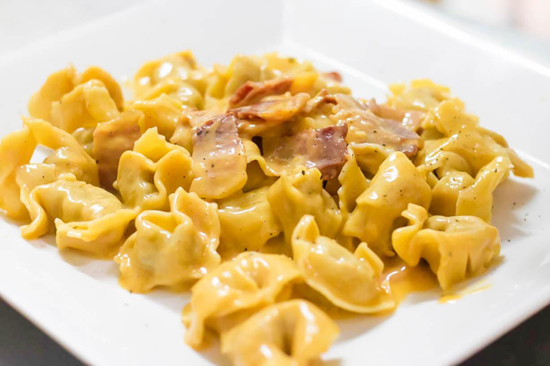 Meat filled Tortellini