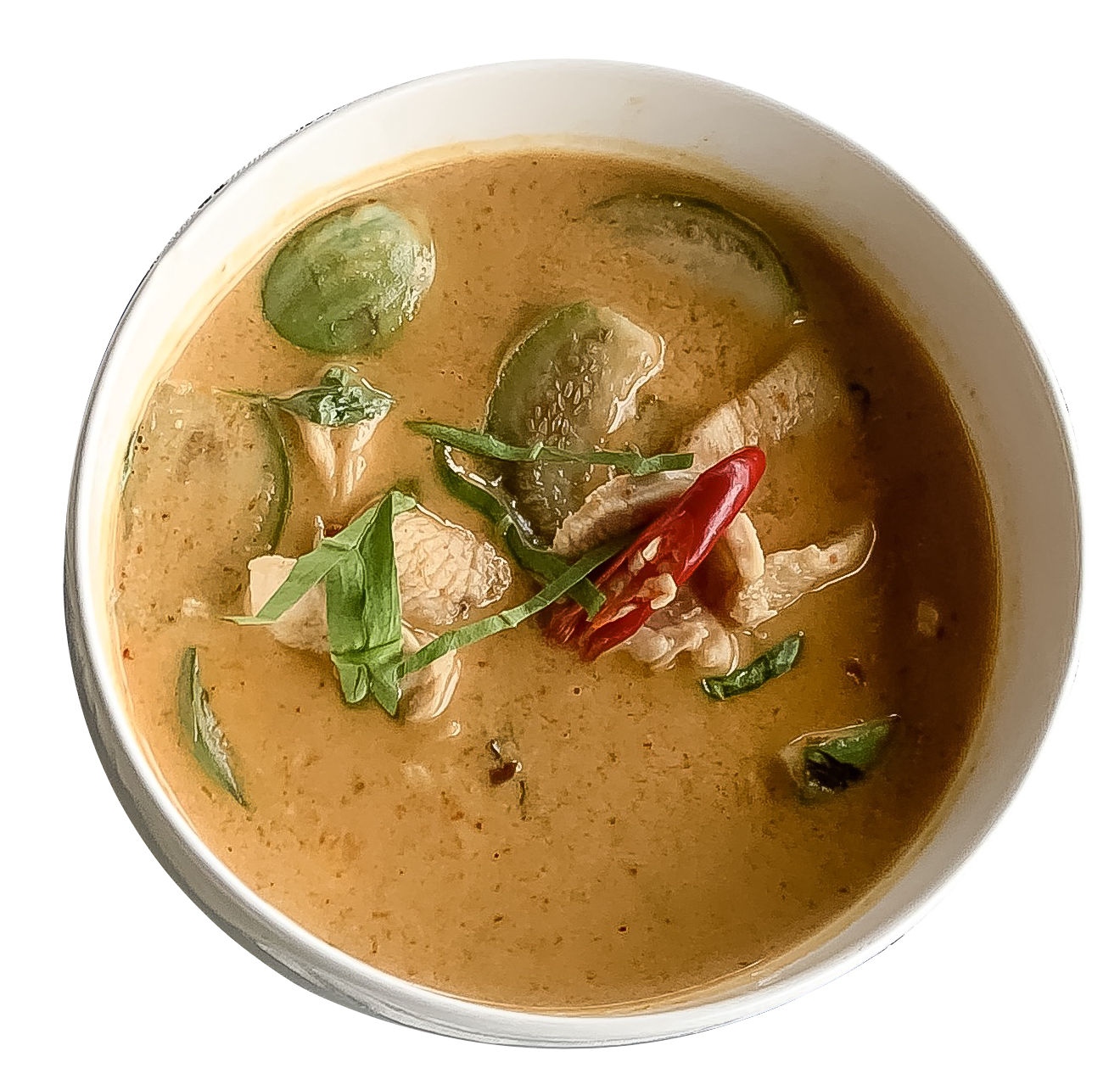 Red Curry w/steamed rice