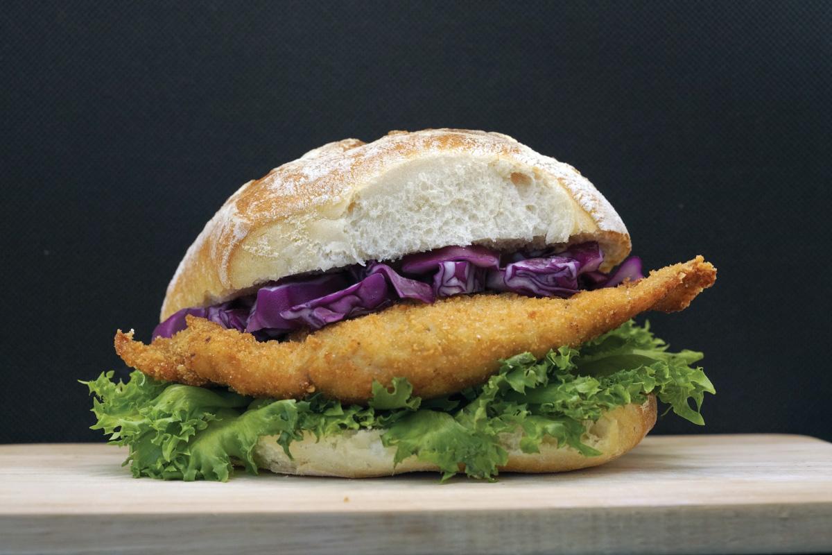 Cordon-Bleu Burger