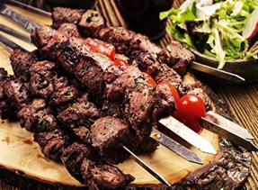 BBQ Skewers beef or lamb